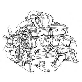 8110930 MOTORE REVISIONATO FH200