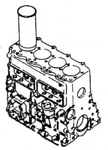 basamento ISUZU A-4BG1TPG