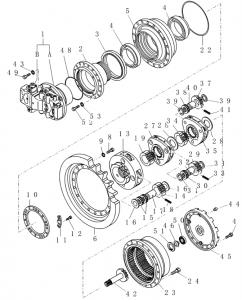 71474243 Motore Idraulico