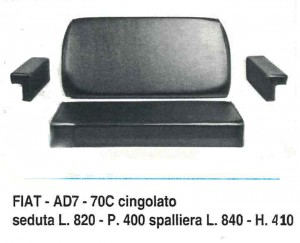 Sedile SE1004